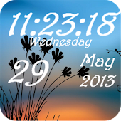 Super Clock Wallpaper Free&Pro