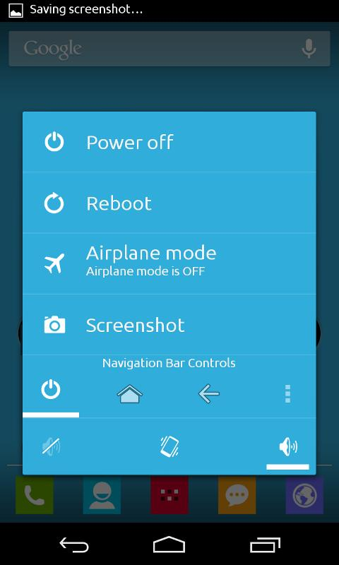SOFT BLUE CM \ AOKP THEME - screenshot