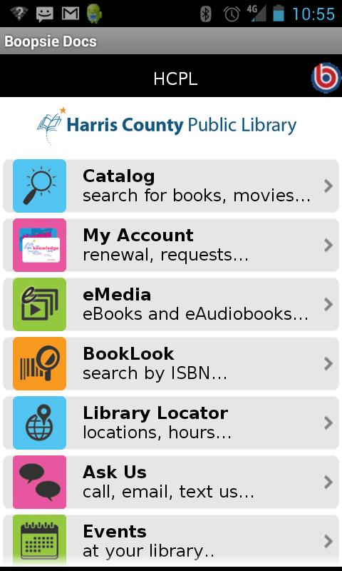HCPL Mobile - screenshot
