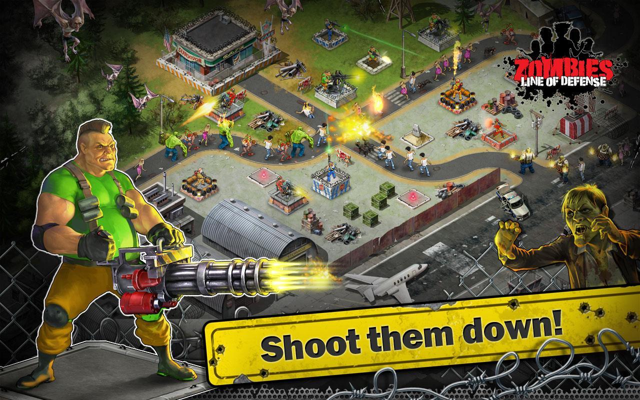 Zombies: Line of Defense – TD - screenshot