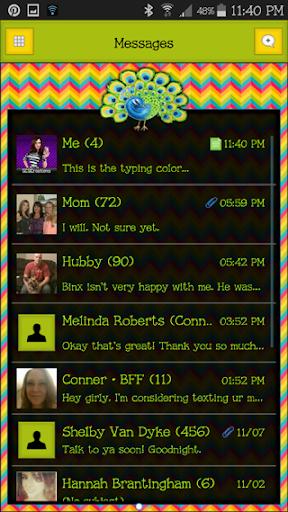 GO SMS THEME - SCS346