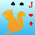 Squirrel card game icon