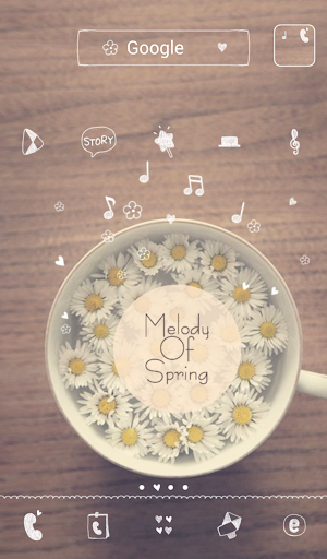melody of spring dodol theme