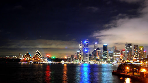 Sydney night wallpaper