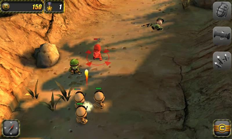 Tiny Troopers- screenshot