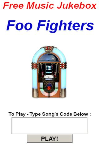 Foo Fighters JukeBox - screenshot
