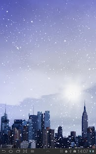 Winter Cities Live Wallpaper- screenshot thumbnail