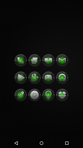 Black and Green - Icon Pack