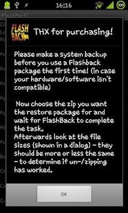 FlashBack *root* *CWM*