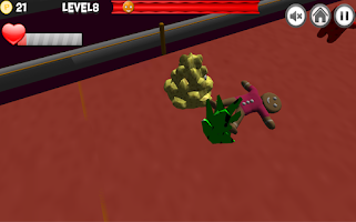 Screenshot of Angry gingerbread run
