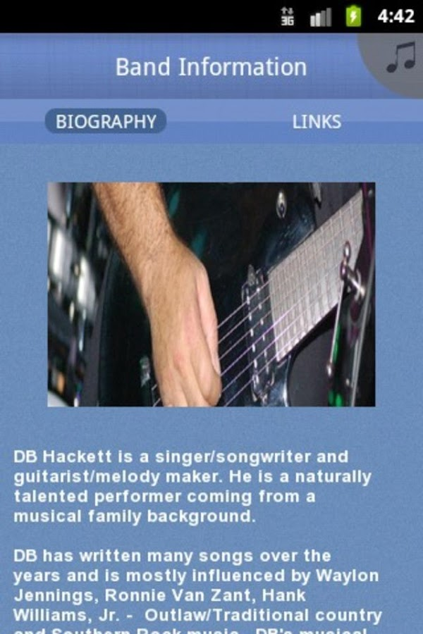 DB Hackett - screenshot