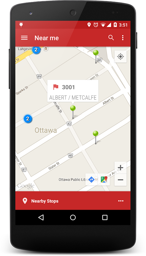Ottawa Transit - screenshot