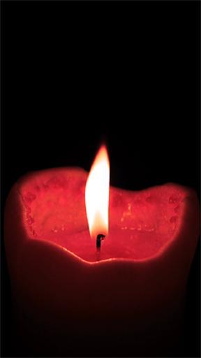浪漫的蜡烛
