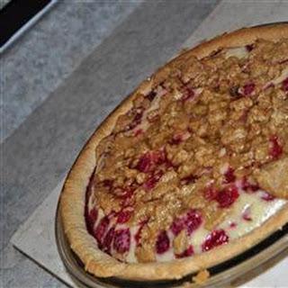 Sour Cream Raspberry Pie