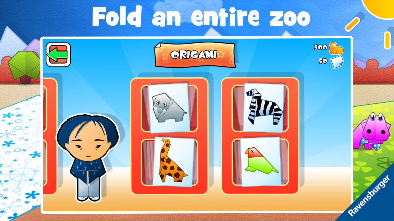 Play-Origami Zoo - screenshot