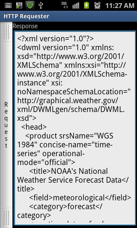 HTTP Requester- screenshot