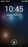 Screenshot of Keypad Lock Screen Parallax HD