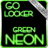 Green Neon GO Locker theme