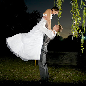 by Ross Bolen - Wedding Bride & Groom