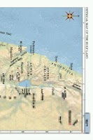 Screenshot of LDS Bible Maps
