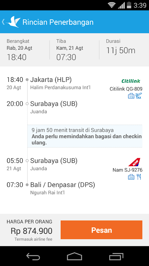 Traveloka Flight Amp Hotel Android Apps On Google Play
