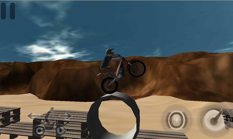 Trials On The Beach Demo - screenshot