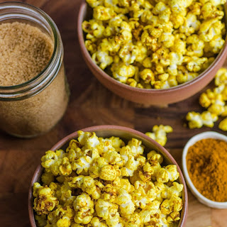 Sweet & Salty Curried Popcorn.