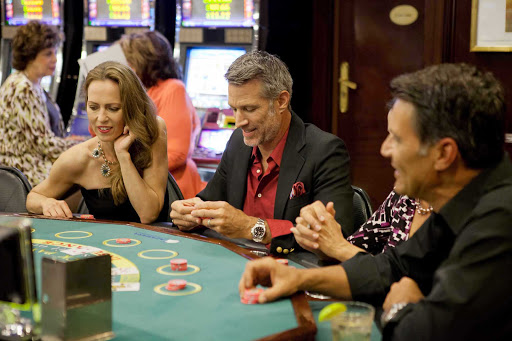 Azamara-Casino - Enjoy an exciting evening of casino action aboard an Azamara cruise.