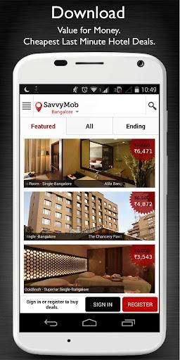 SavvyMob – Last Minute Hotels