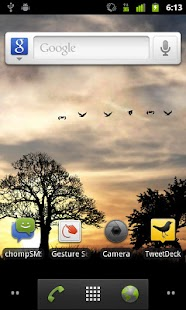 Sun Rise Live Wallpaper Free Screenshot