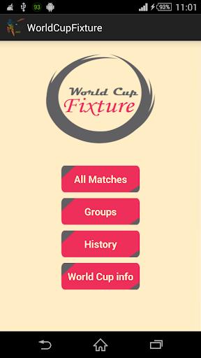 World Cup Schedule 2015