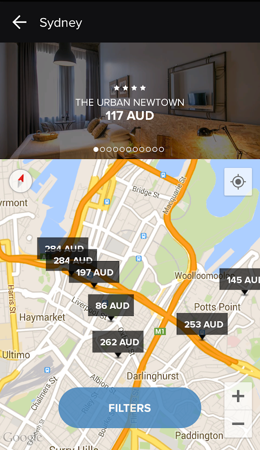 HotelQuickly - Just Travel - screenshot