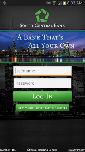 South Central Bank Mobile App
