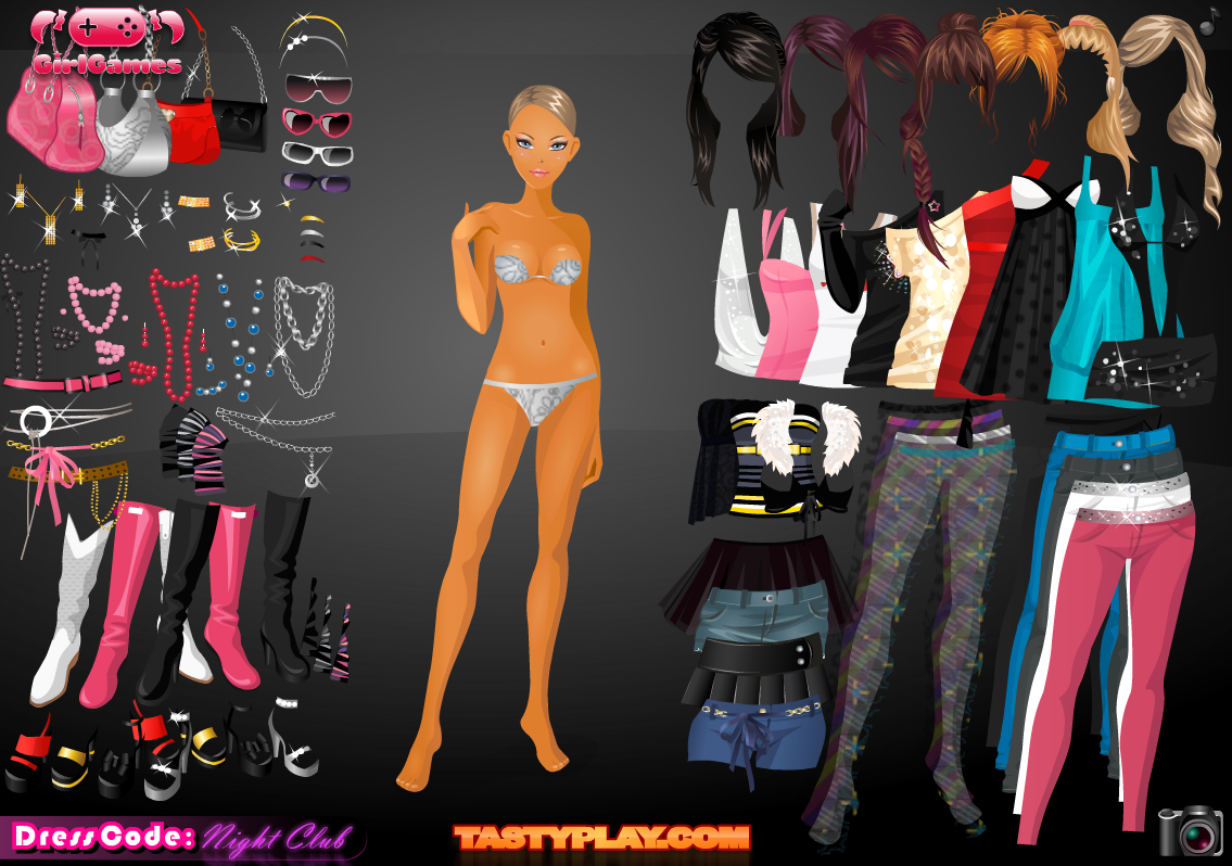 Nightclub Dress Up -Girl Games - screenshot