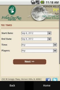 White Deer Run Golf Club - screenshot thumbnail