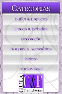 Guia Casal e Festas Mobile - screenshot thumbnail