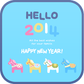 HELLO 2014 go launcher theme
