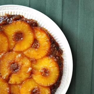 Skillet Pineapple Upside Down Cake.