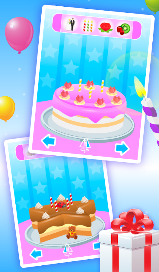 Cake Maker Kids - Cooking Game- screenshot