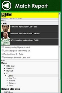 Celtic FC - screenshot thumbnail