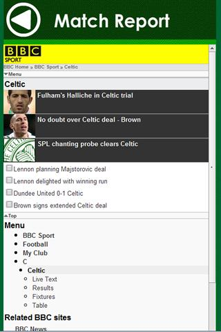 Celtic FC - screenshot