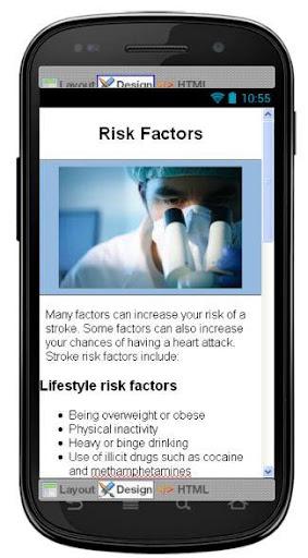 【免費醫療App】Stroke Disease & Symptoms-APP點子