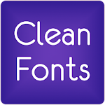 Fonts Clean for FlipFont® Free 9.09.0