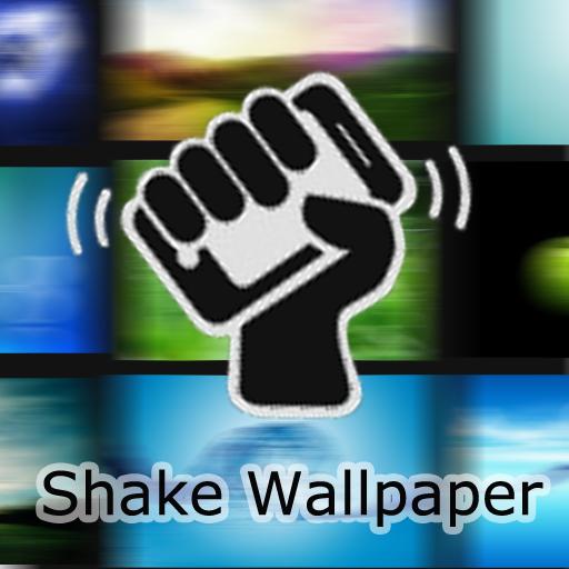 搖搖桌布 (Shake Wallpaper) LOGO-APP點子