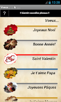 Screenshot of Voeux