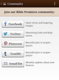 Bible Promises - screenshot thumbnail