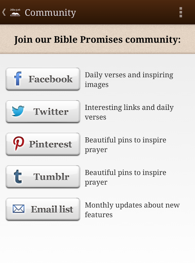 Bible Promises - screenshot