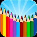Coloring Book mobile app icon