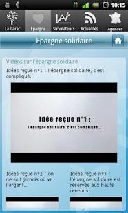 L'épargne solidaire par Carac- screenshot thumbnail
