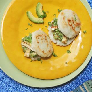 Arepas Stuffed with Reina Pepiada Recipe